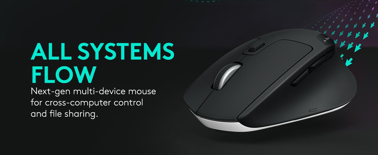 Logitech M720 Triathlon Wireless Multi-Device Mouse