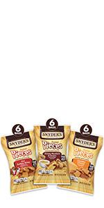Pretzel Pieces Variety Pack, 18ct