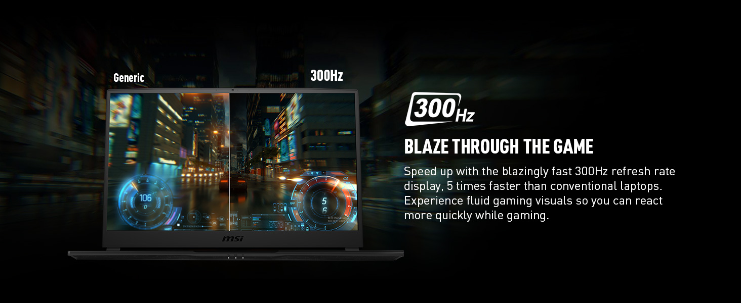 300hz refresh rate display monitor