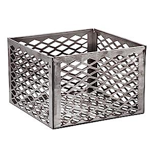Carbón;cesta;acero;rebar;inoxidable;fuego;firebox;aire;flujo;flujo de aire;humo;fumador;gestión
