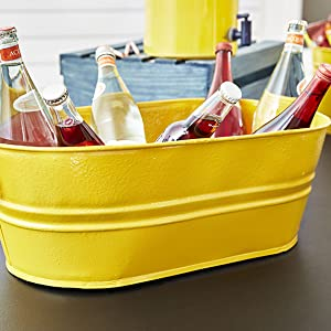 gloss sunburst yellow stops rust spray paint yellow top diy drink barbeque fun game party