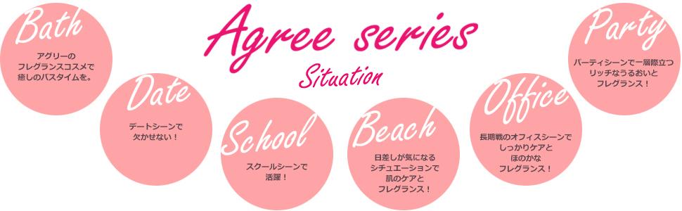 アグリーシリーズ 使用用途 シチュエーション