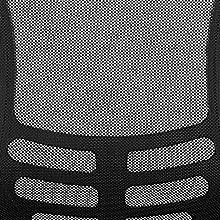 ventilated back, breathable back, mesh back