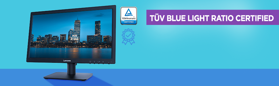 TUV CERTIFIED, EYE COMFORT