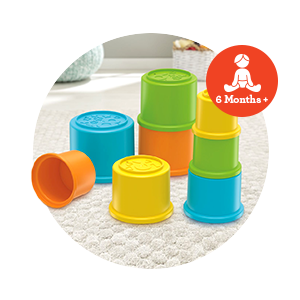 Buy Fisher Price Stacking Cups Colourful Stacking Toys Develops Hand Eye Coordination Online At Low Prices In India Amazon In