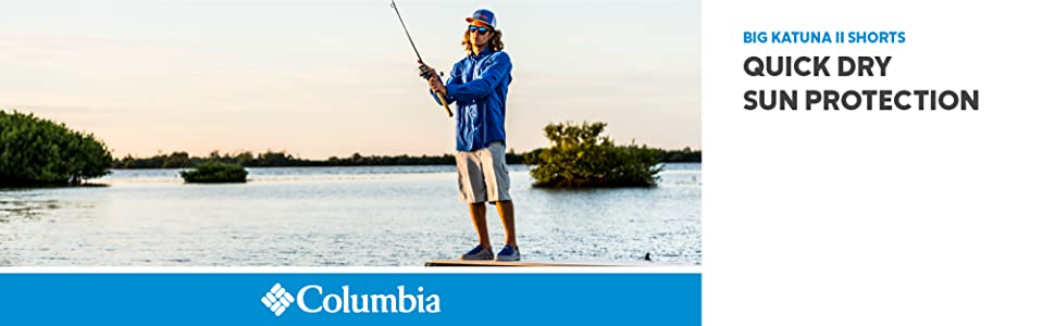 Columbia Men's Big Katuna II Shorts