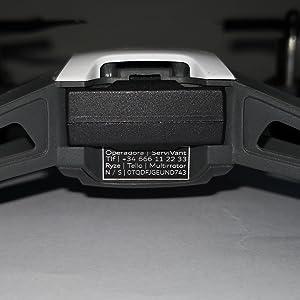placa identificativa drone