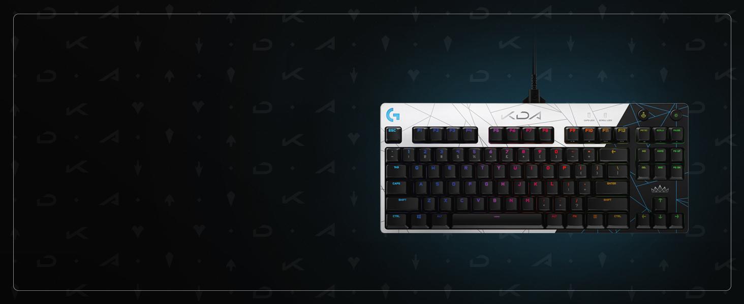 G PRO KDA Gaming-Tastatur