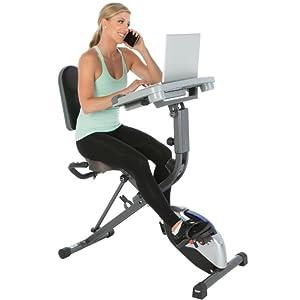 exercise bike desk