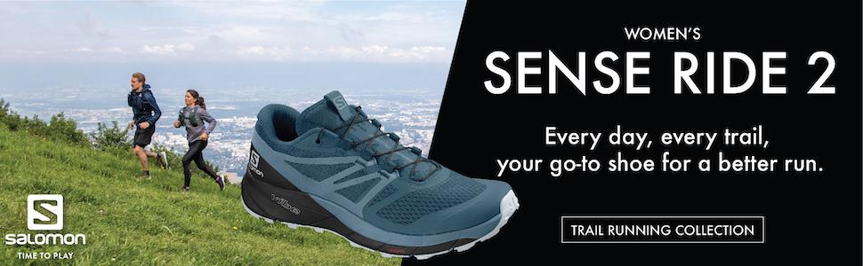 womens sense ride 2 running shoe from salomon