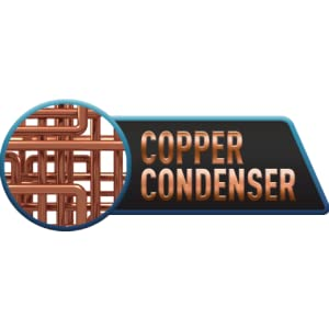 Copper condensor