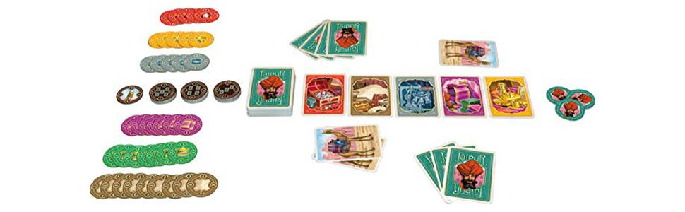 Asmodee - Jaipur, juego de mesa (JA01ML): Pauchon, Sebastien ...