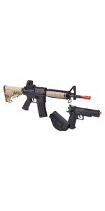 Crosman GameFace Airsoft Air Rifle Pistol