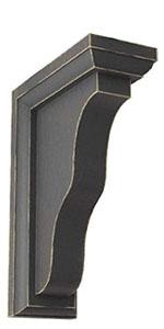 vintage wood corbel, vintage wood bracket