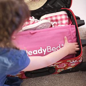 Lätt att packa din färdiga säng
