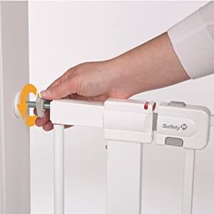 baby gates, safety 1st, child friendly, pressure mounted, metal, Easy Install