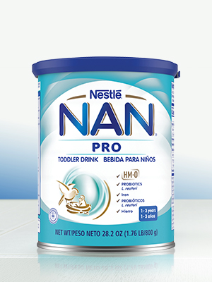 Nestle NAN Pro Toddler Drink, from a top Infant Formula Brand in Latin America
