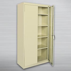 Storage Cabinets & Sandusky Lee CA41361872-09 Welded Steel Classic Storage Cabinet 4 ...