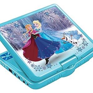 Amazon.es: Frozen Disney Lector DVD Portátil 7