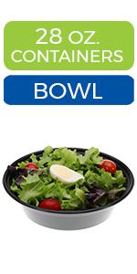 meal prep bowls salad