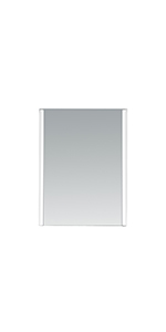 Villon LED Lighted Mirror with Infrared Sensor, 31-Inch by 24-Inch