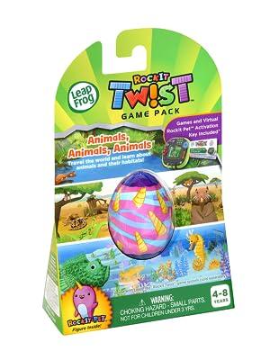 LeapFrog RockIt Twist Game Pack Animals, Animals, Animals
