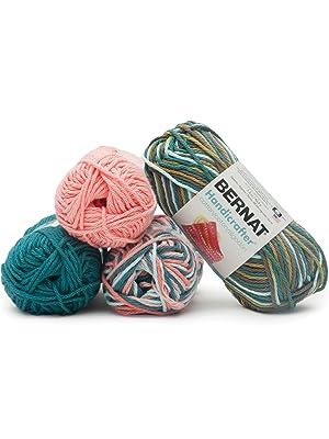 bernat handicrafter cotton yarn craft crochet knit yarnspiration edfba5fa1