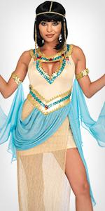 cleopatra, egyptian, costume, sequin, sexy, dress
