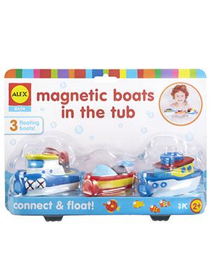 Tub, Bathtub, bathroom, boats, magnets, tugboat, fishing boat, speed boat
