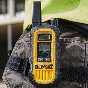 DEWALT DXFRS300 Heavy Duty Walkie Talkies