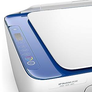 Impressora HP DeskJet 2630 All-in-One com 3 meses de teste de tinta instantânea