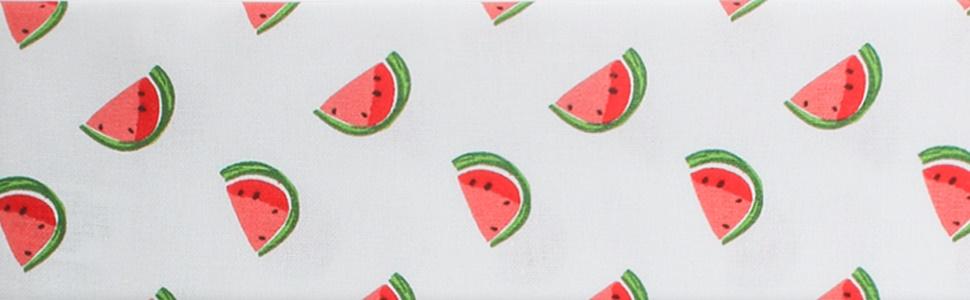 Match Watermelon Apron FREE SHIPPING Watermelon and pink polka dot fabrics Potholders sold separately