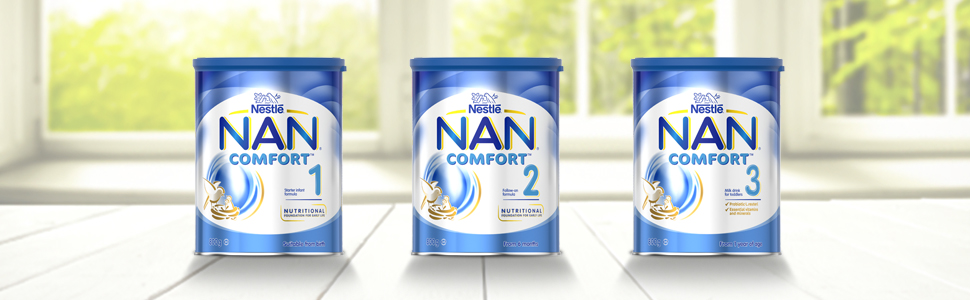 nan COMFORT baby formula infant toddler milk