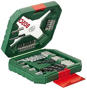 Bosch X-Line Malet/ín de 33 unidades para taladrar y atornillar