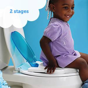 Fun sounds & music ancourage and reward your toddler's success on the toilet!​