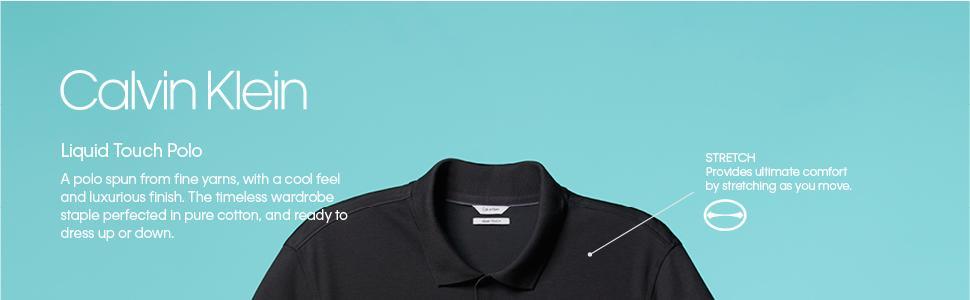 Calvin Klein Playera tipo Polo para hombre  Amazon.com.mx  Ropa ... f65cfdc0b177a