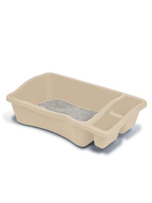 litter pans, big kitty litter, big kitty litter box, litter pans for large cats, 30 lb litter,