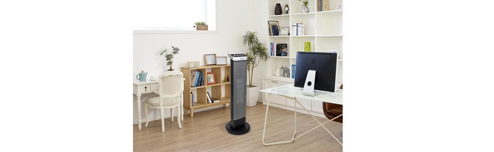 estufa, torre, cerámica, radiador, calentador, climatización, calor,