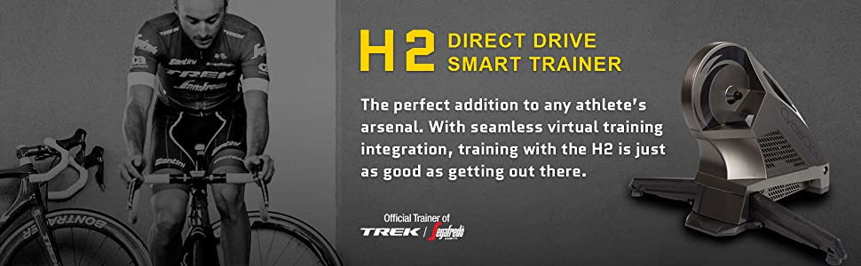 H2 direct drive smart trainer