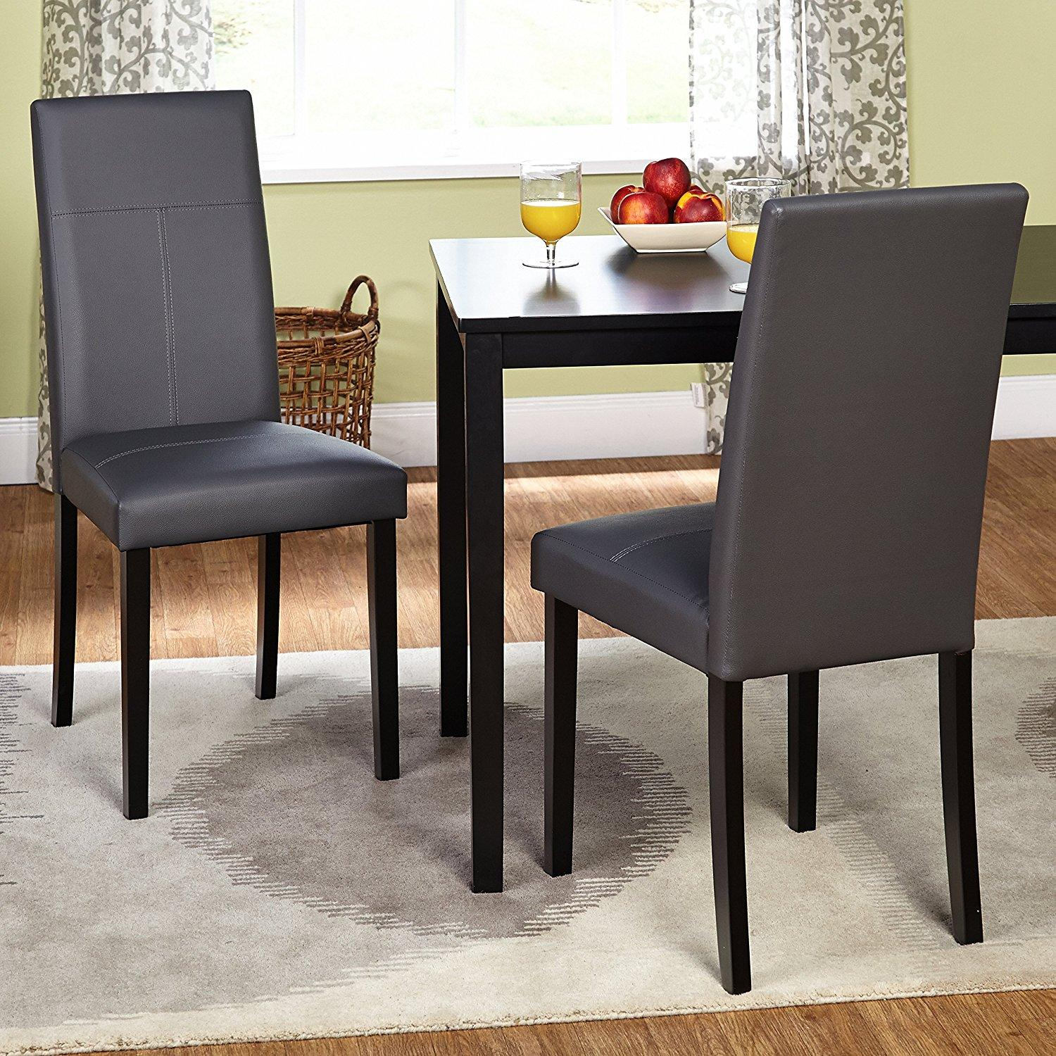 Amazon Dining Chairs: Amazon.com: Target Marketing Systems Set Of 2 Upholstered