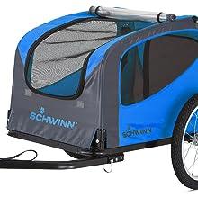 schwinn, coupler, bike, trailer