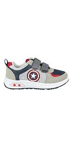 zapatillas del capitán américa