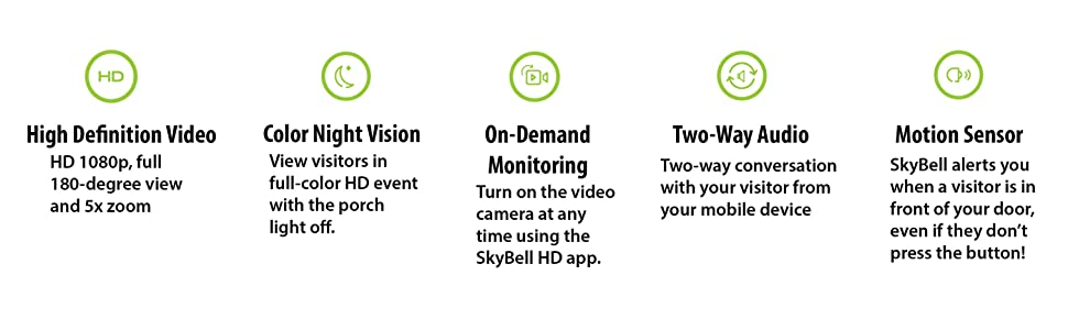 skybell; video doorbell