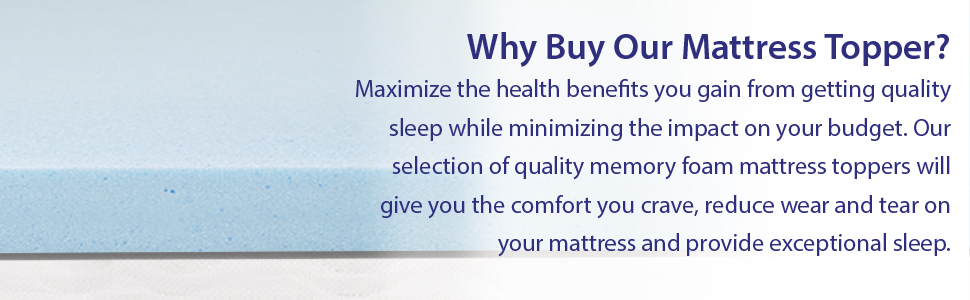 Why Our Mattress Topper?