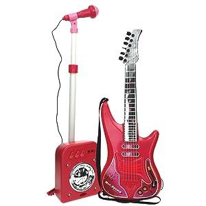 Set Guitarra, micrófono Y Bafle Mss.sound