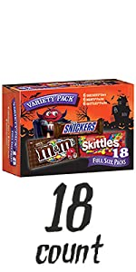 MARS Chocolate and More Full Size Halloween Candy Variety Mix