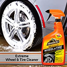 Armor All Premier Car Care Kit - Extreme Wheel & Tire Cleaner - Spray on and hose off, easy cleaning