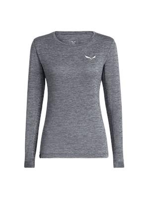 SALEWA Puez Melange Dry W L//S Tee Camiseta de manga larga para mujer
