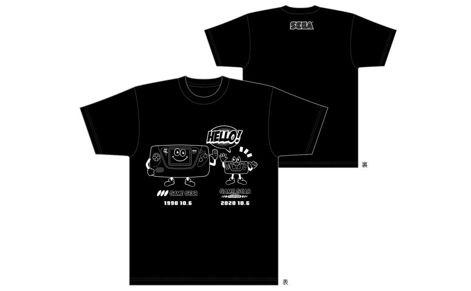 ゲームギアBros. オリジナルTシャツ
