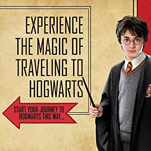 Experience the magic of traveling to Hogwarts